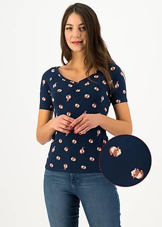 T-Shirt savoir-vivre, go ginny go, Shirts, Blue