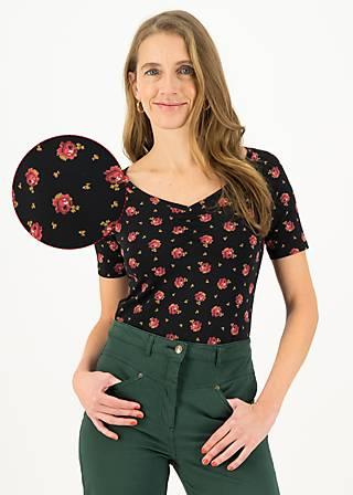 T-Shirt savoir-vivre, romy rose, Shirts, Schwarz
