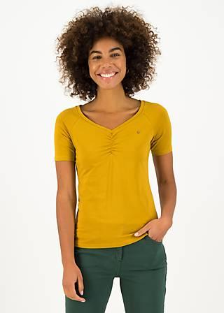 T-Shirt savoir-vivre, win gold, Shirts, Gelb