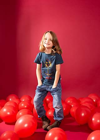 Kinder-Shirt strongest mum, blue night cha, Shirts, Blau