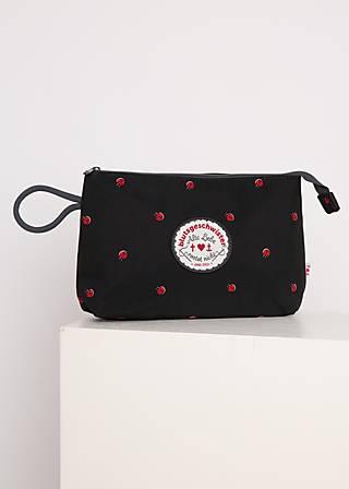 Kosmetiktasche sweethearts washbag, ladybug friends, Accessoires, Schwarz