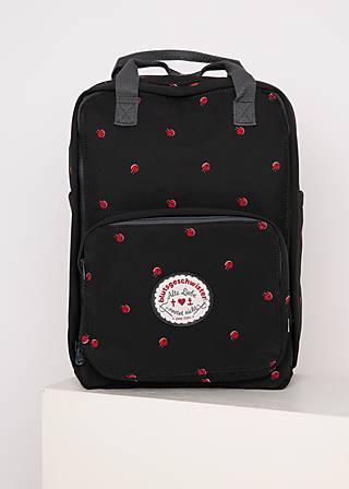 Backpack wild weather lovepack, ladybug friends, Accessoires, Black