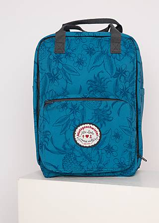 Backpack wild weather lovepack, tropical shades, Accessoires, Turquoise