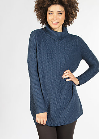 jolly jam jumper, midnight blue, Pullover, Blau