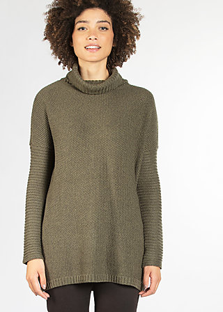jolly jam jumper, woody wood, Pullover, Grün