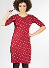 love to love dress, red lady rose, Jerseykleider, Rot
