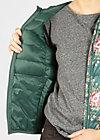 luft und liebe jacket, winter flower bunch, Leichtdaune, Grün