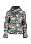 luft und liebe jacket, winter flower bunch, Lightdown, Grün