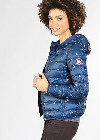 luft und liebe jacket, swallow blues, Lightdown, Blau