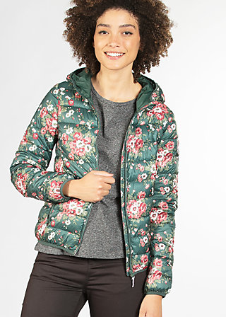 luft und liebe jacket, winter flower bunch, Jackets, Grün