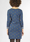 twiggy stardust dress, dotty night dot, Kleider, Blau
