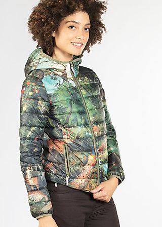 waldluft und liebe jacket, forest, Leichtdaune, Grün