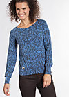 baby be mine pullsweat, betty burlesque, Langarm, Blau