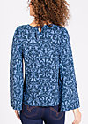 chorus of lovers blouse, betty burlesque, Blusen, Blau