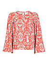 chorus of lovers blouse, casino royal, Blusen, Rot