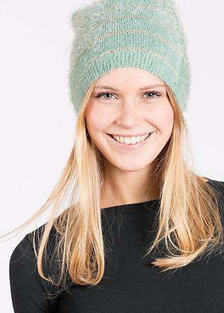 Flausch und braus beanie, gold mint , Hats/Caps, Grün