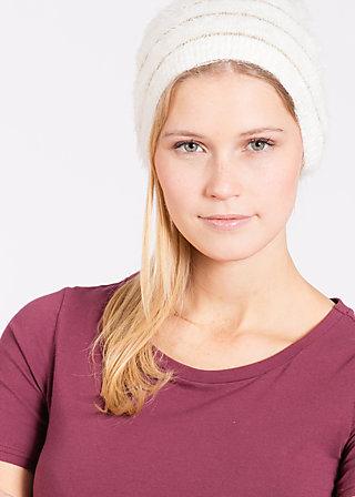 Flausch und braus beanie, gold white, Hats/Caps, Weiß