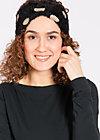 fluffy fawn headband, goldi goldfever, Haarbänder, Schwarz