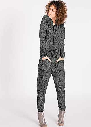 grace of graceland Jumpsuit, pine of graceland, Hosen, Grau