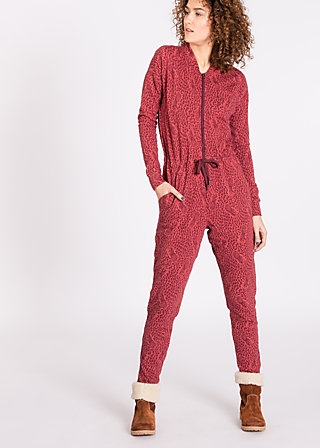 grace of graceland Jumpsuit, pine of wine, Hosen, Rot