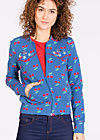 hit machine blouson, young cherry, Zipperjacken, Blau