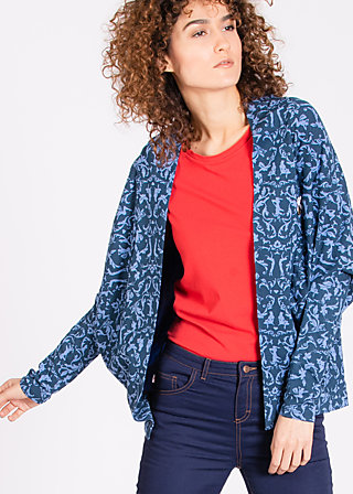 hold me close cardy, betty burlesque, Cardigans, Blau