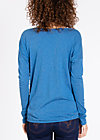 logo longsleeve legère, smooth blue, Shirts, Blau