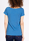 logo shortsleeve legère, smooth blue, Shirts, Blau