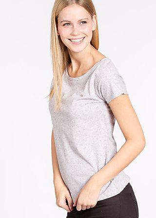 logo shortsleeve legère, marshmellow, Shirts, Grau