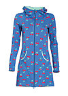now or never  longzip , young cherry, Cardigans, Blau