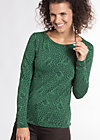 oh my marine longsie , pine of forest, Sweater, Grün
