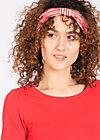 Pineapple hairwrap, walking in memphis, Haarbänder, Rot