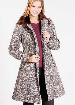priscillas pride coat, jungle room, Jackets, Grau
