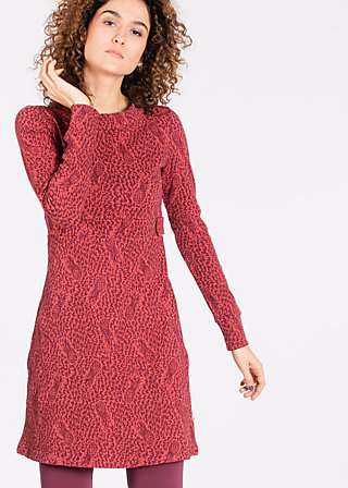 seargentine pepper Dress, pine of wine, Jerseykleider, Rot