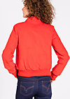 shake rattle and roll blouson, aurora rouge, Jacken, Rot
