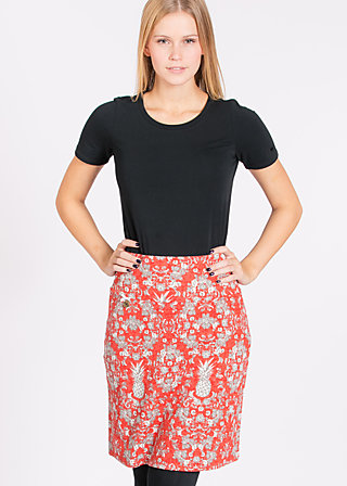 sweet surrender skirt , casino royal, Jerseyröcke, Rot