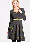 tidy and polite dress, all night long, Jerseykleider, Schwarz