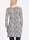 twiggy stardust dress, zebra zoo, Jerseykleider, Schwarz