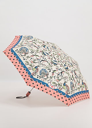 ciao bella umbrella, bird love, Accessoires, Weiß