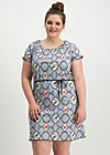 cowshed romance dress, forester birdlove , Kleider, Blau