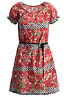 cowshed romance dress, roses of black forest , Dresses, Red