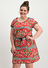 cowshed romance dress, roses of black forest , Kleider, Rot