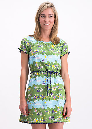 cowshed romance dress, alpine lovers, Kleider, Grün