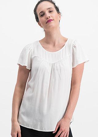 duftikuss blusette, white chalk, Blusen & Tuniken, Weiß