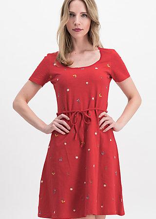 festtagstracht robe , red meadow, Kleider, Rot