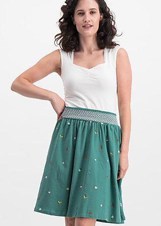 gipfelstürmerin glocke, green meadow, Skirts, Blue