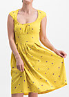 glockengeläut robe, fly over alpine, Dresses, Yellow