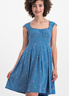 glockengeläut robe, fly over forest, Dresses, Blue