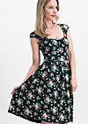 glockengeläut robe, foxy flower , Dresses, Black
