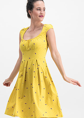843986e7f2f0bb glockengeläut robe, fly over alpine, Dresses, Yellow